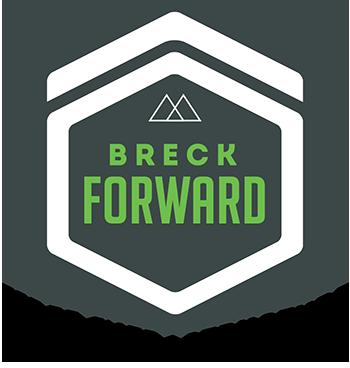 Breck Forward Fiber Infrastructure Logo