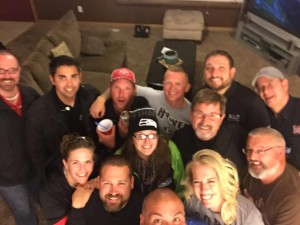 Kami had the ALLO SB crew over to celebrate!